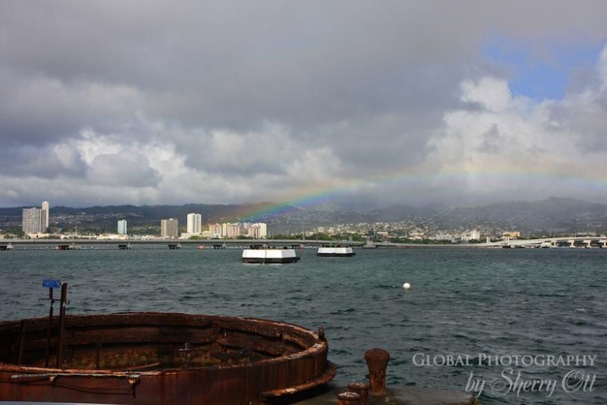 rainbow pearl harbor