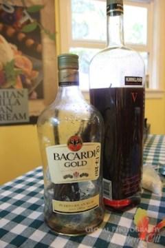 making vanilla extract