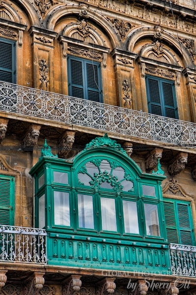 malta wooden balcony