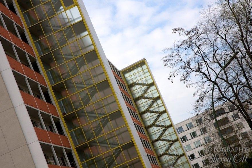 west german architecture cold war