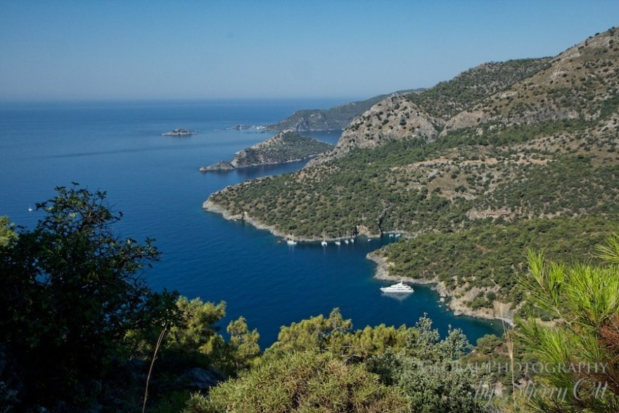 The view from the Lycian way