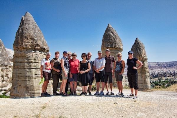 My intrepid travel group Cappadocia