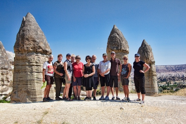 My intrepid travel group Cappadocia