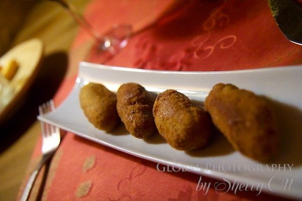 mushroom croquettes