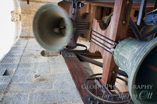 bells ringing in the bell tower