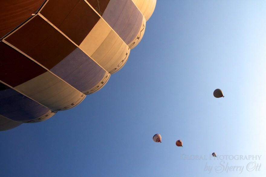 Hot air balloon turkey