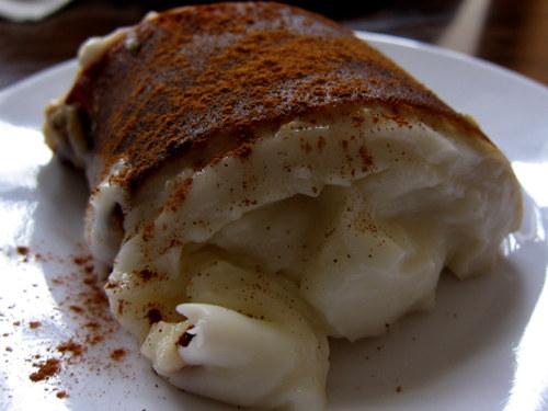 Turkish desserts chicken pudding