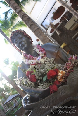 Leis are found all over Hawaii