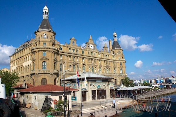 Haydarpaşa Garı train station in Kadikoy