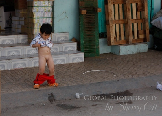 No toilet needed - Vietnam