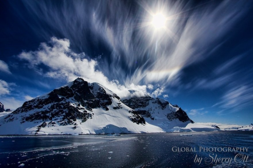 The beauty of Antarctica's landscapes