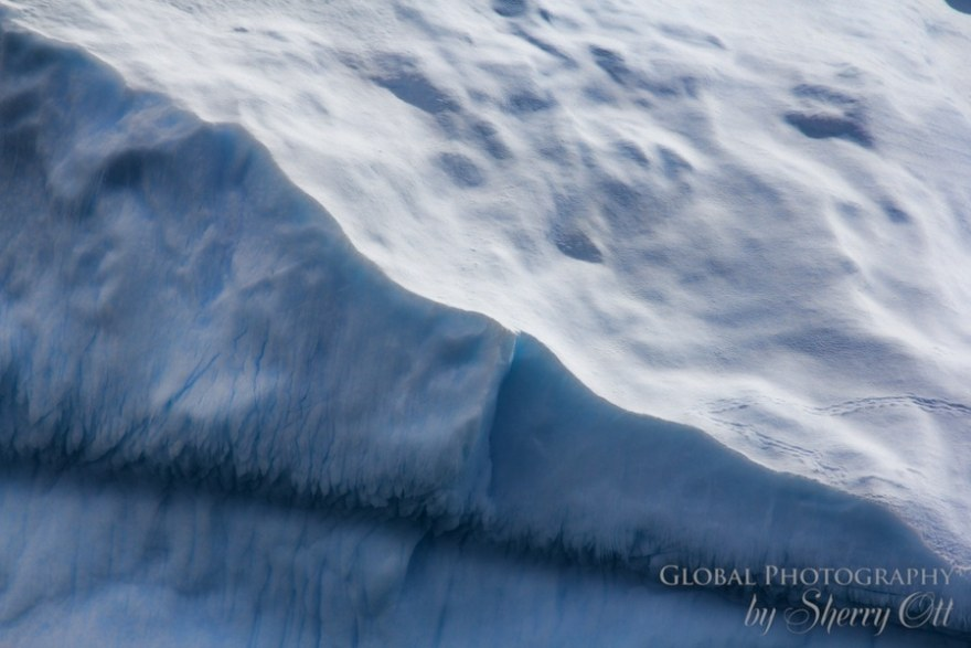 Ice Patterns Antarctica