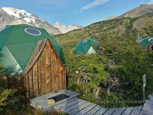 ecocamp dome patagonia