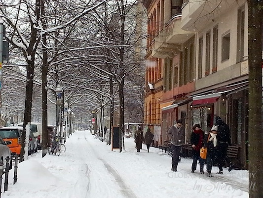 Snow Berlin