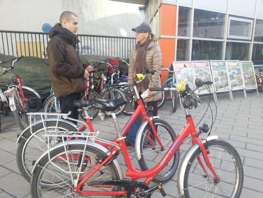 Biking Berlin