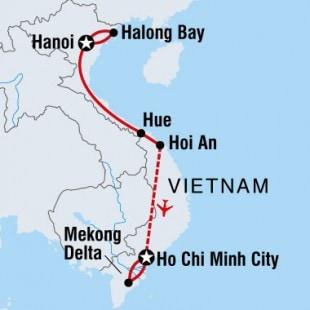 Good morning vietnam map
