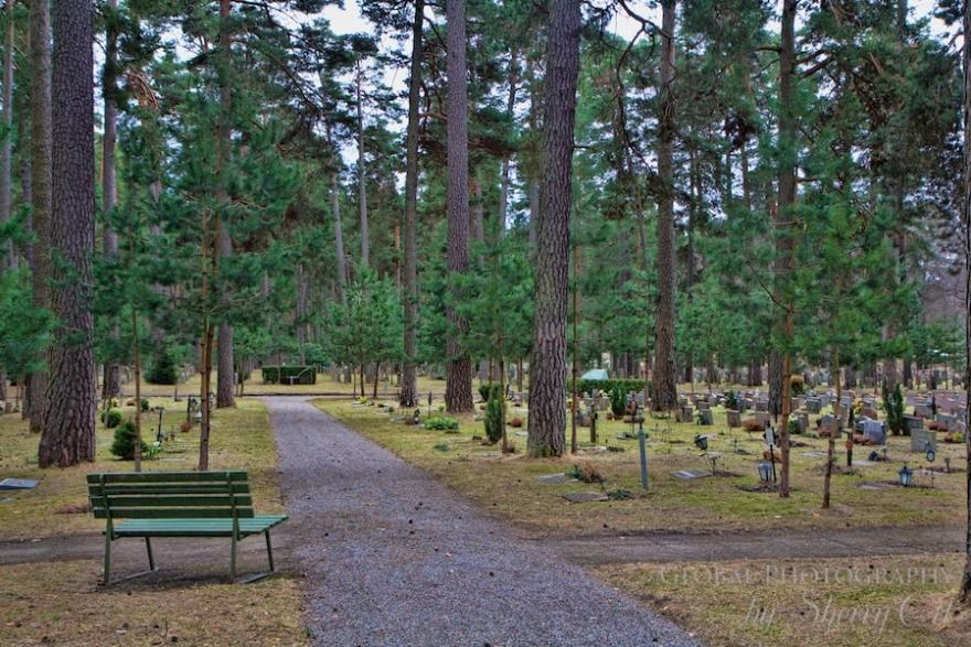 Skogskyrkogården  cemetery stockholm