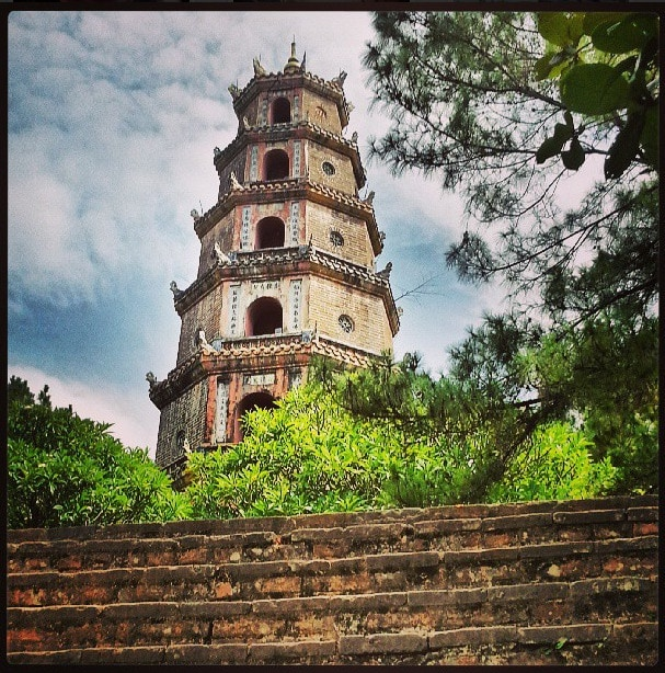 Thien Mu Pagoda Vietnam