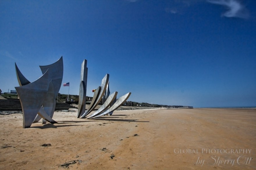 Omaha Beach Sculpture