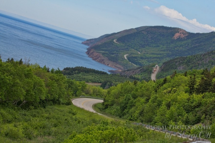 Cabot Trail Road Trip view