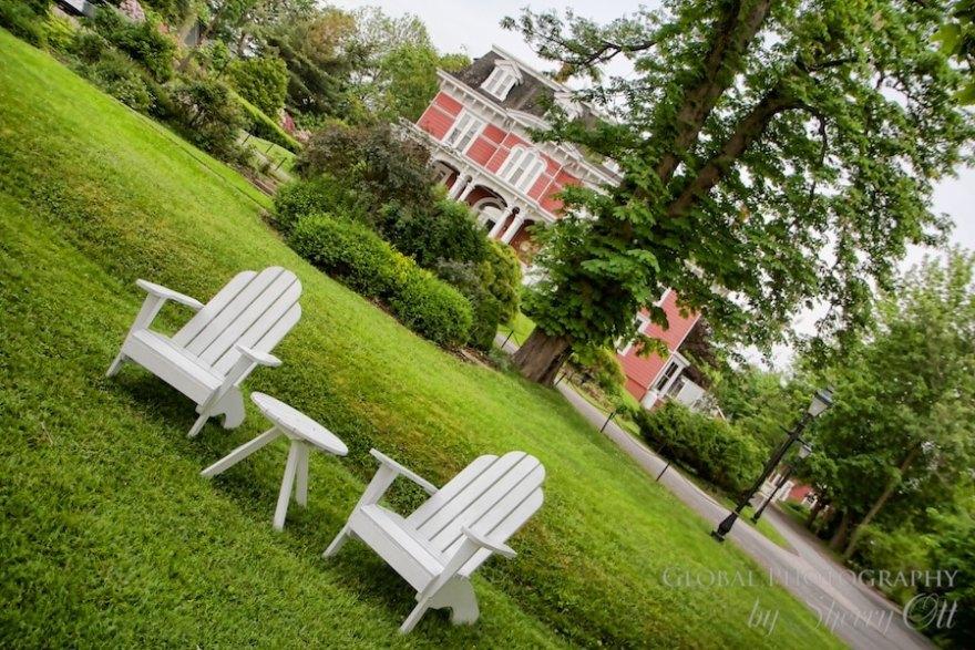 Blomidon Inn Adirondack chairs