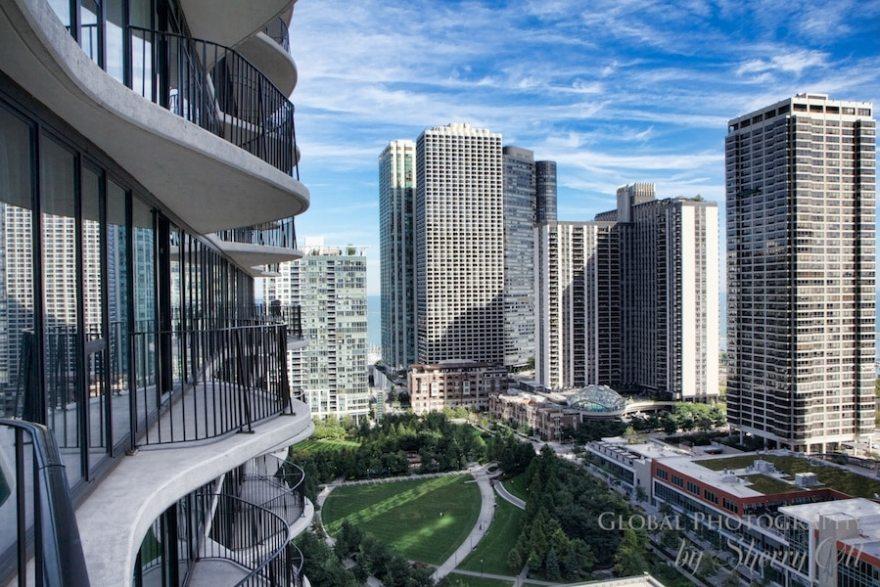 Aqua balcony chicago