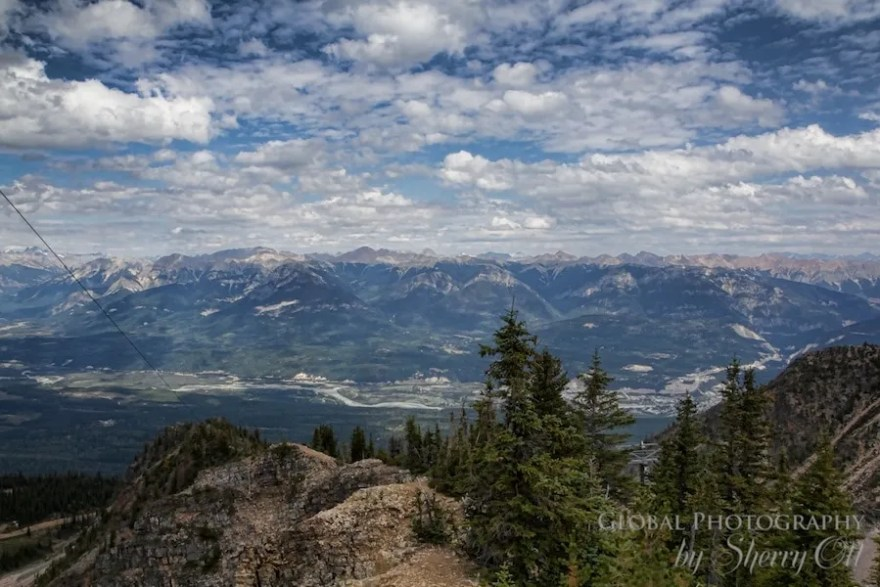 Kicking Horse Mountain Golden BC
