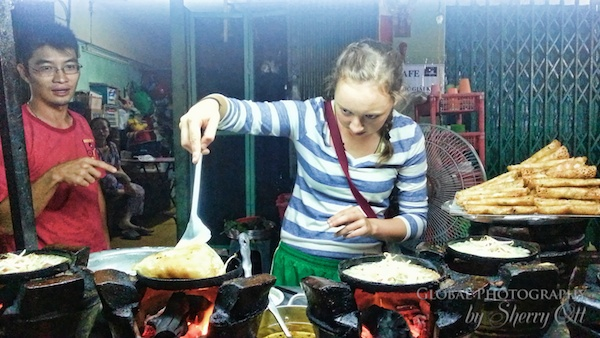 Street food Saigon
