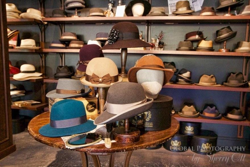 vintage design hats