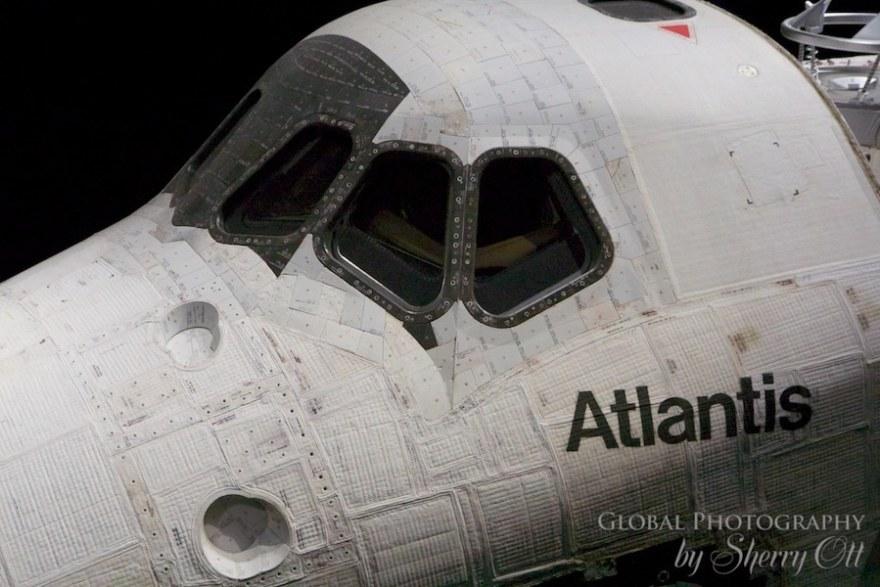 Atlantis exhibition kennedy space center
