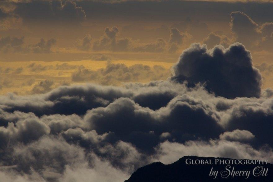 cloudscape haleakala maui