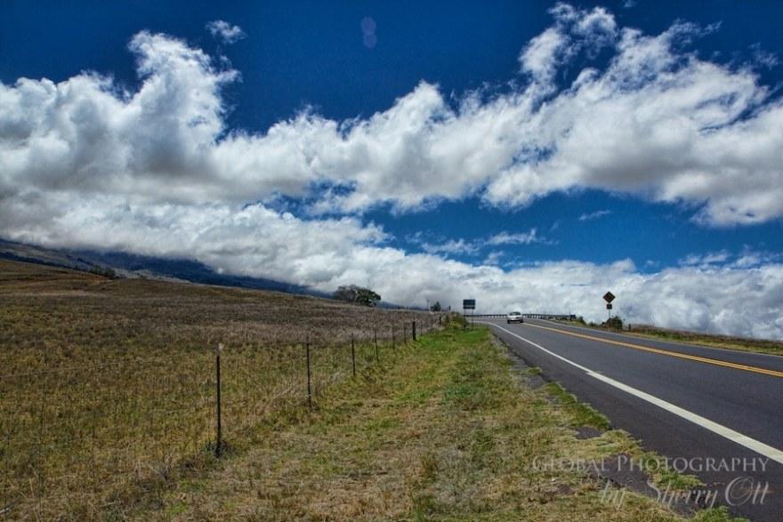 Biking Maui