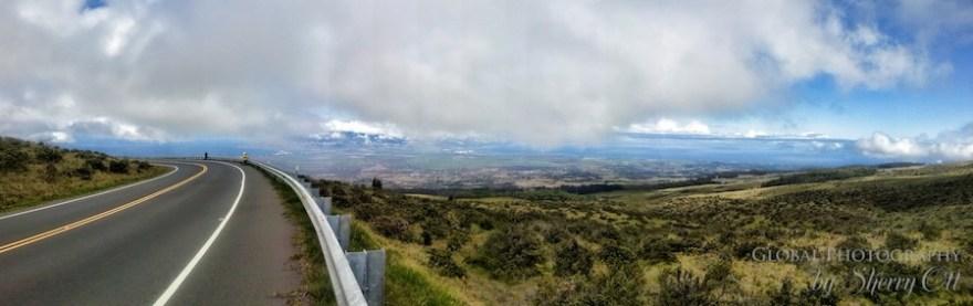Maui views from Haleakala