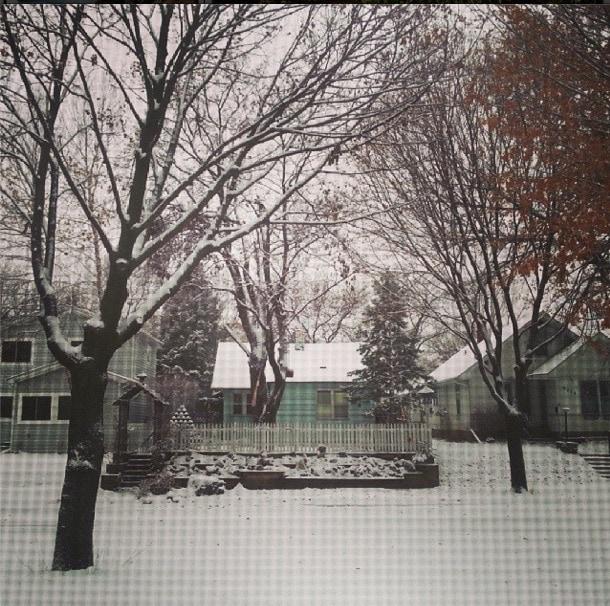 first snow minneapolis