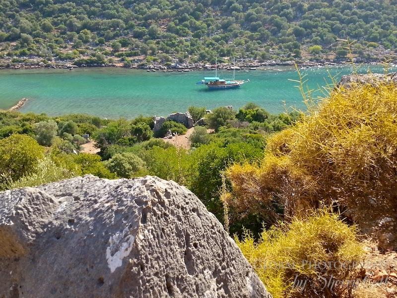 boat charter Lycian way