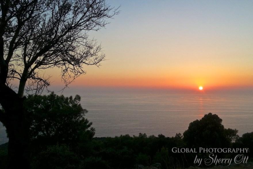 sunset lycian way