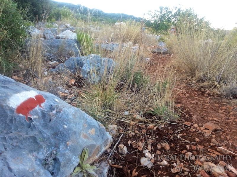 Lycian Way waymarkers