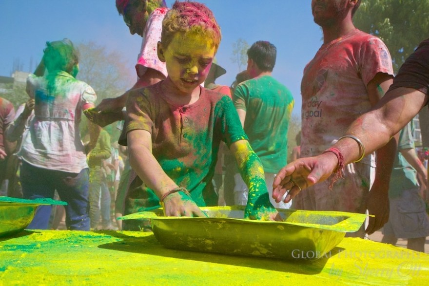holi powder