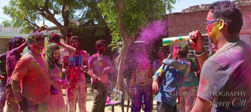 Holi with Locals