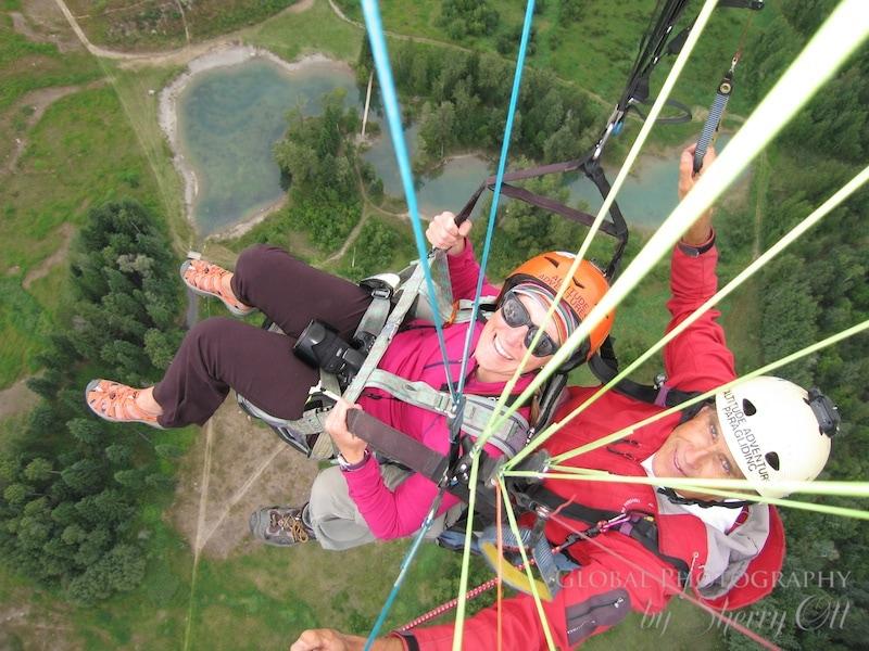 paragliding golden bc