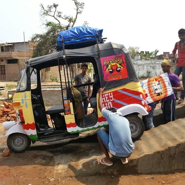 rickshaw repairs