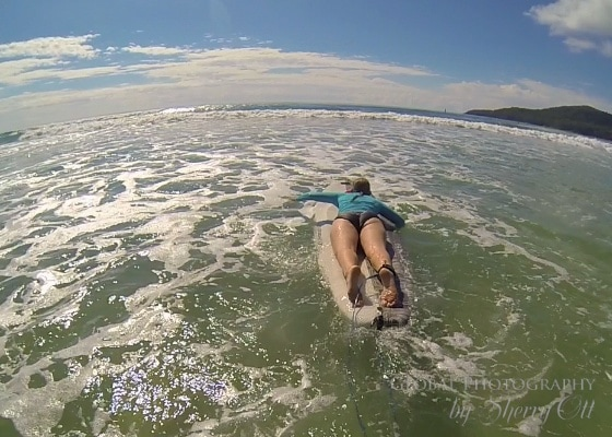 try new things surfing noosa