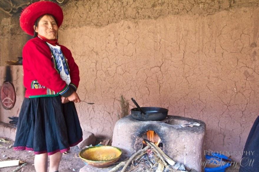 Peru village life