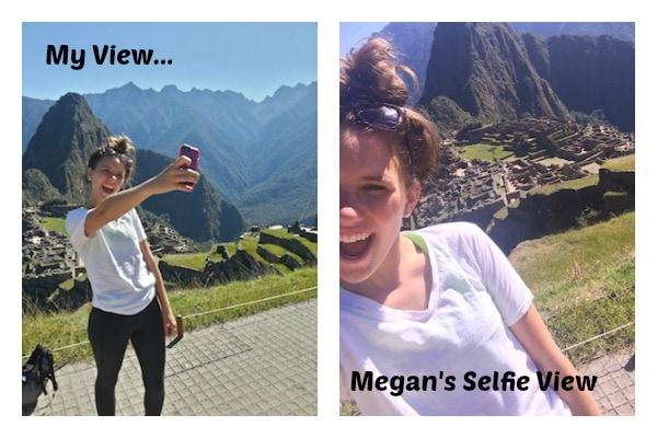 Megan Selfie