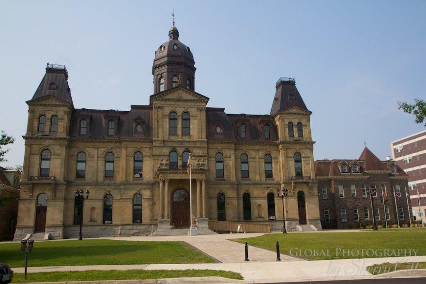 Fredericton legislative building