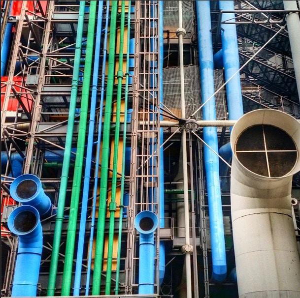 Pompidou Center Architecture