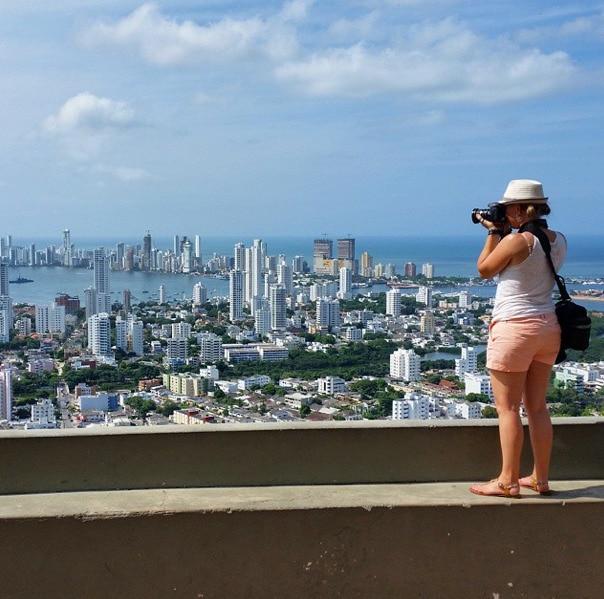 View from La Popa Cartagena
