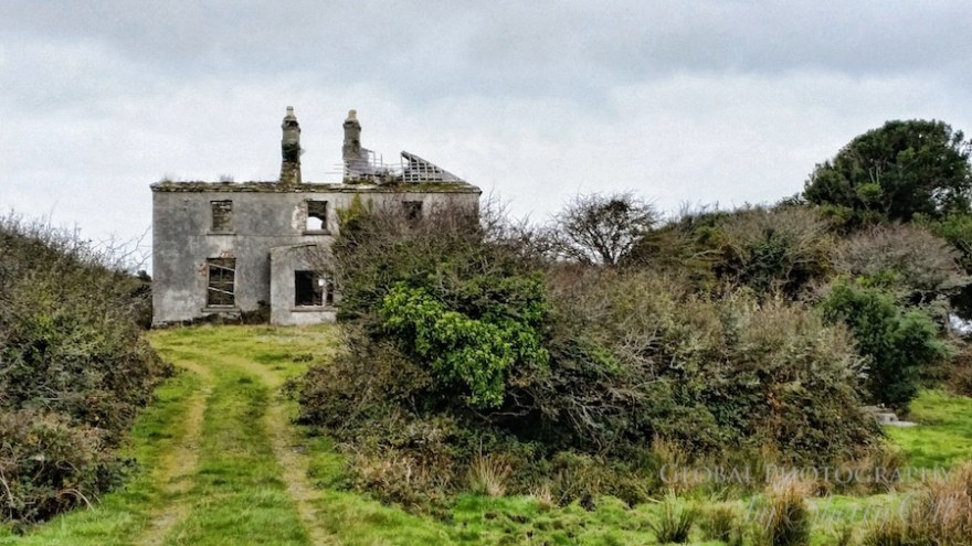 abandoned home roundstone ireland