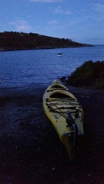 night kayaking ireland