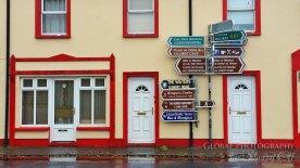 Ballyvaughan ireland signpost